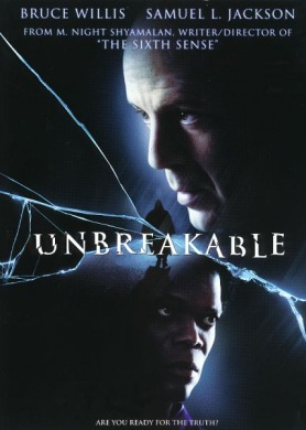 Cartel de 'Unbreakable'