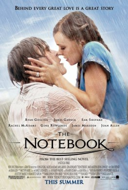 Cartel de 'The Notebook'