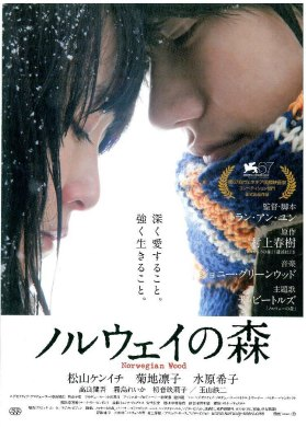 Cartel de 'Norwegian Wood'