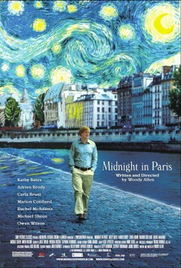 Cartel de 'Midnight in Paris'