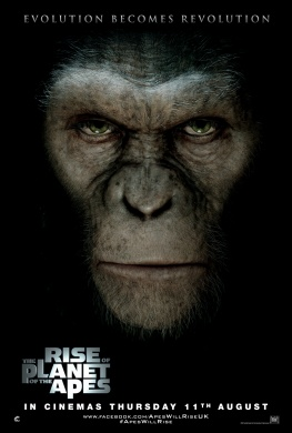 Cartel de 'Rise Of The Planet Of The Apes'