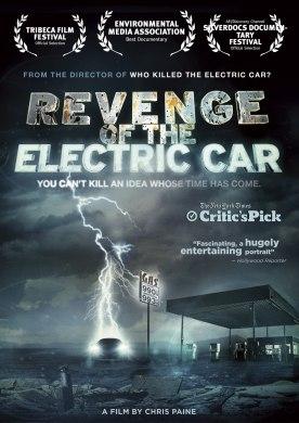 Cartel de 'Revenge of the Electric Car'