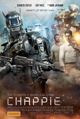Cartel de 'Chappie'