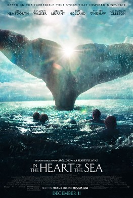 Cartel de 'In the Heart of the Sea'