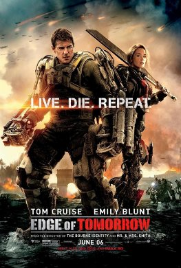 Cartel de 'Edge of Tomorrow'