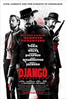 Cartel de 'Django Unchained'