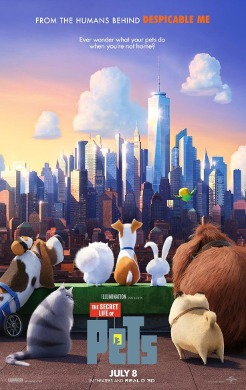 Cartel de 'The Secret Life of Pets'