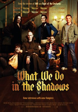 Cartel de 'What We Do in the Shadows'