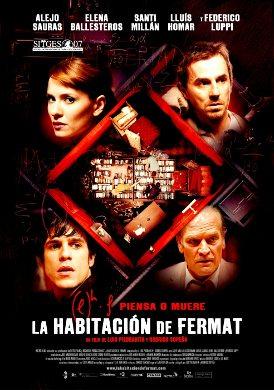 Cartel de 'La habitación de Fermat'