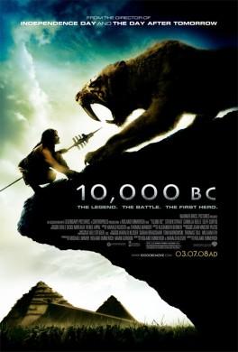 Cartel de '10,000 BC'