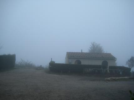 Niebla en Sant Pau de la Guàrdia