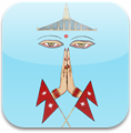Tarjeta de 'Namaskar Nepal'
