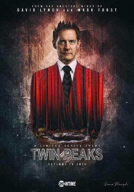 Cartel de 'Twin Peaks (3rd season)'